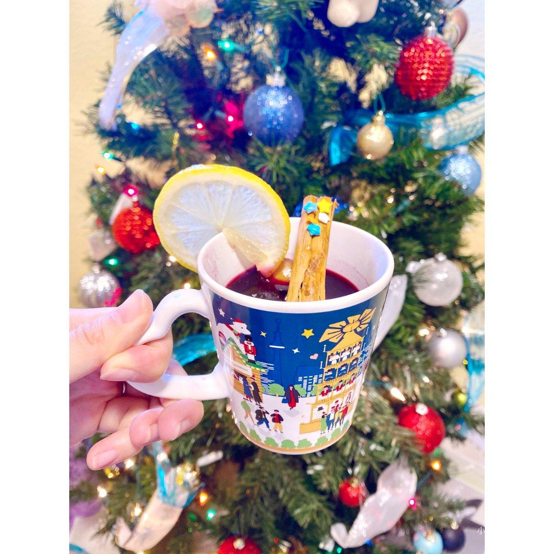 今年圣诞🎄来一杯酸酸甜甜的热红酒🍷吧