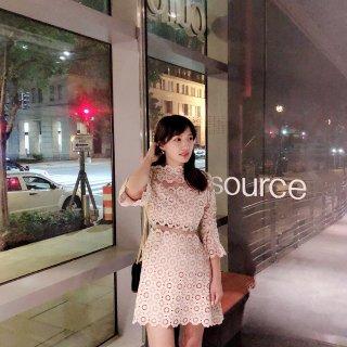 微众测 | Quanta裸粉连衣裙👗做最耀眼的女神小姐姐