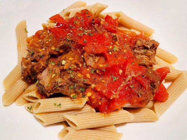 减脂美食攻略 | 番茄牛腩全麦通心粉