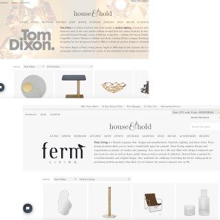 北美家居 宝藏小众网站 设计师品牌精致软...