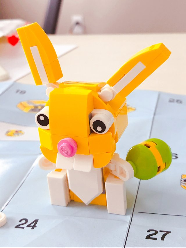 乐高满额赠-可爱的复活节小兔子🐰