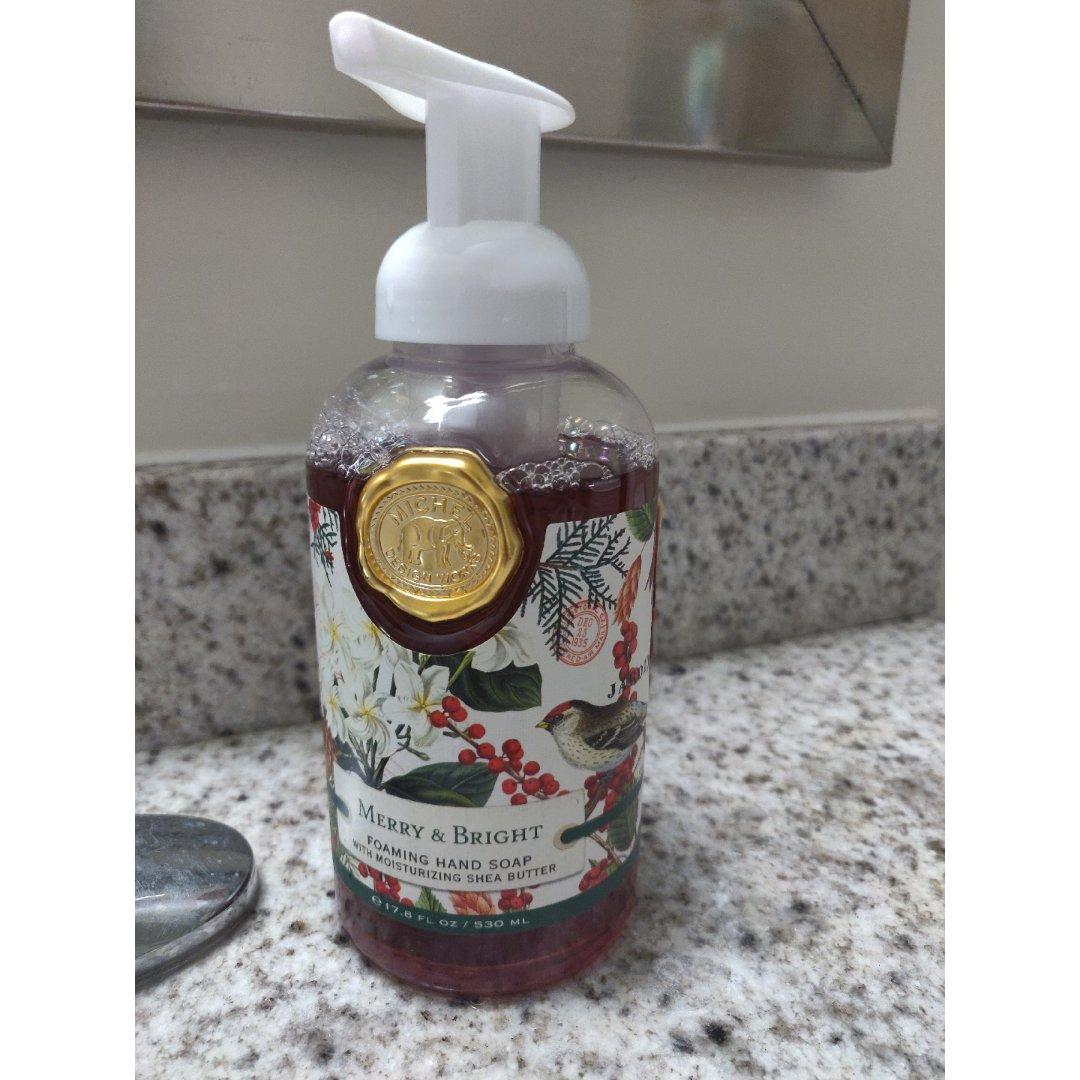 意外发现超级香的洗手液