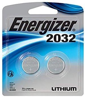 $2.34Energizer 2032 Batteries, 3 Volts, 2Pack
