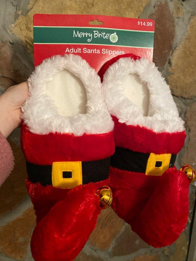 cvs一折圣诞拖鞋