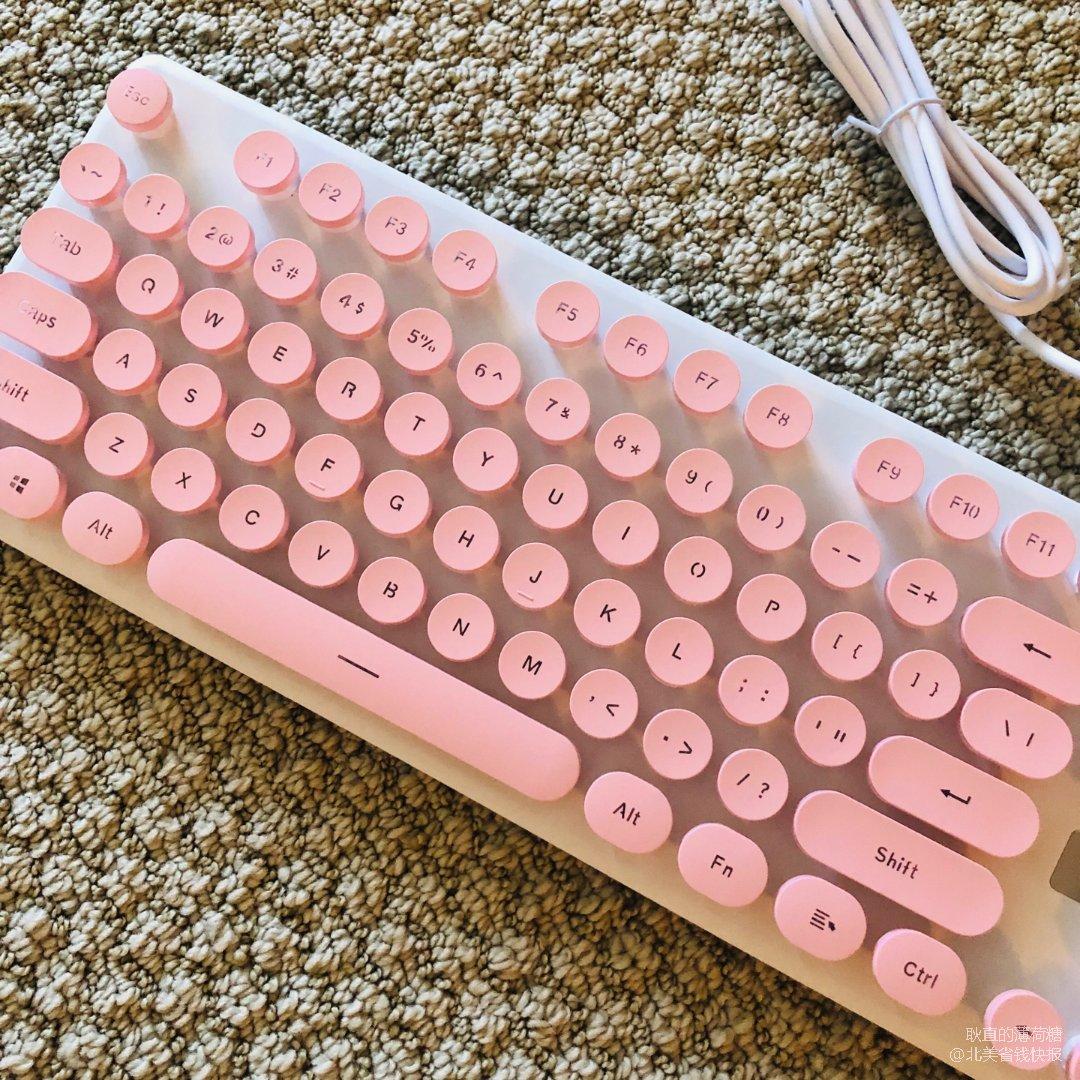 粉嫩萌~我也是有机械键盘的银啦