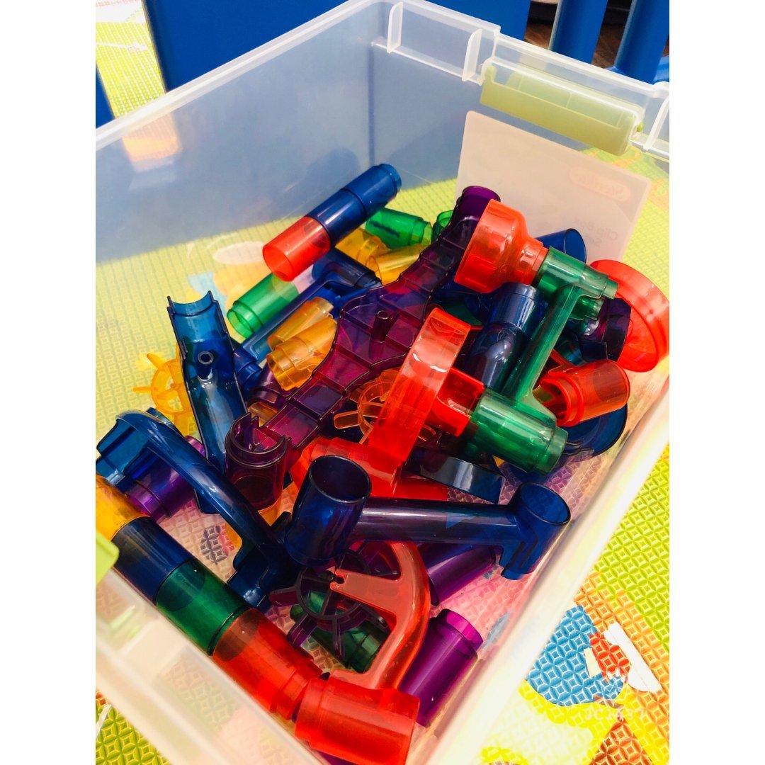 令儿子为之疯狂的益智玩具😁