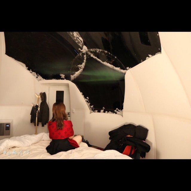 旅行|阿拉斯加看极光➕极光小屋