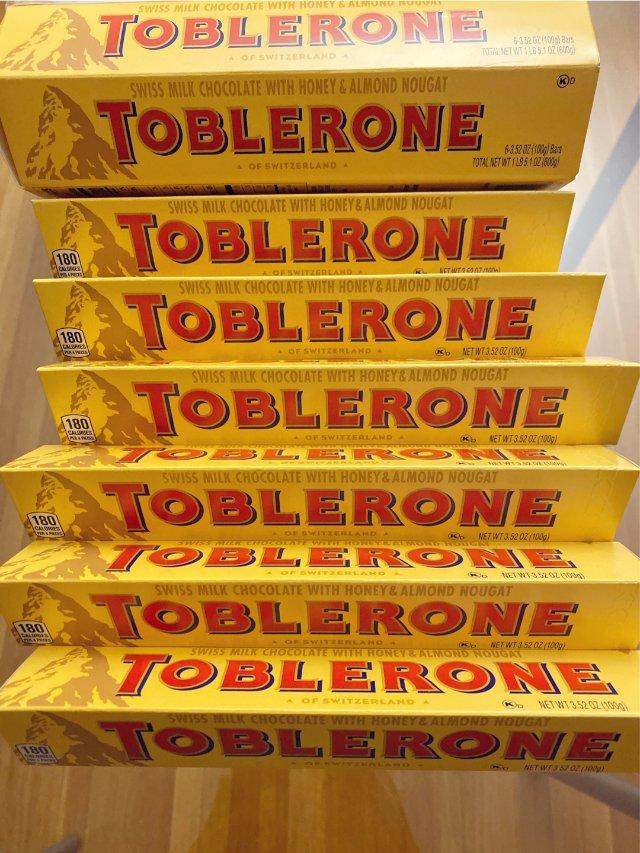 Toblerone巧克力