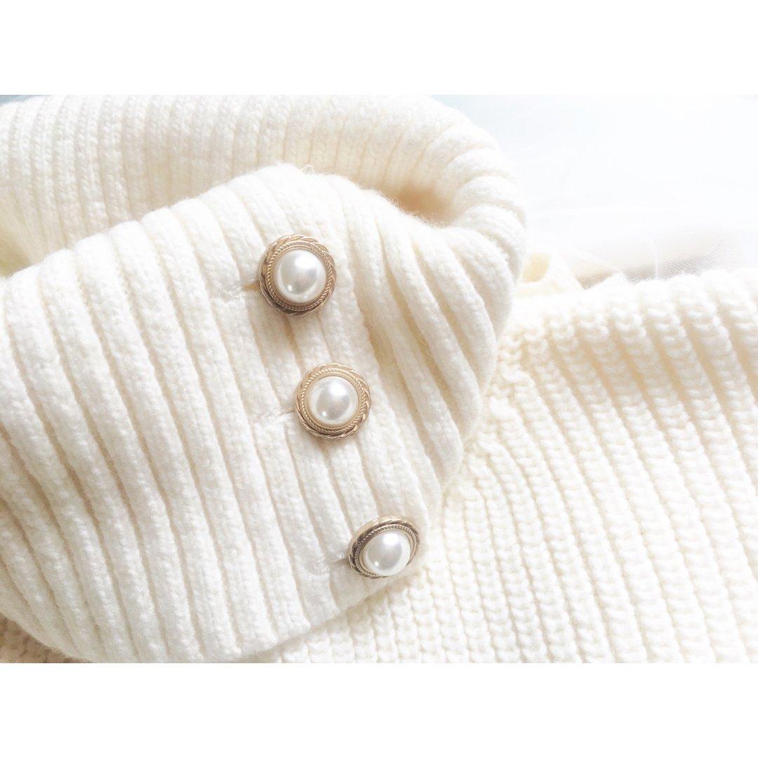 HM珍珠毛衣