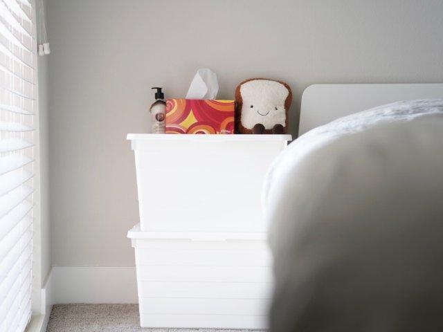 IKEA好物|超平价大容量收纳床头柜✅