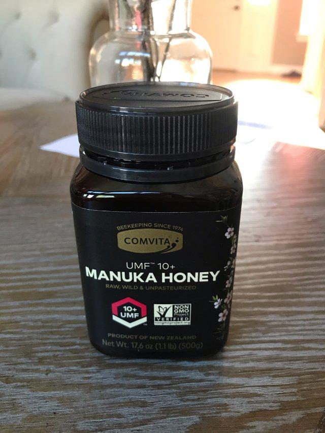 新西兰麦卢卡蜂蜜,把我的咽炎治好了