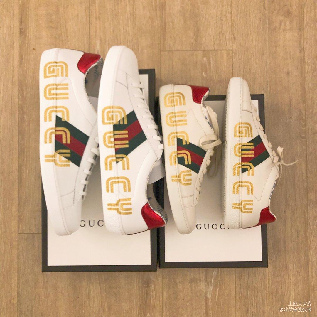 Gucci $221.4 情侣小白鞋