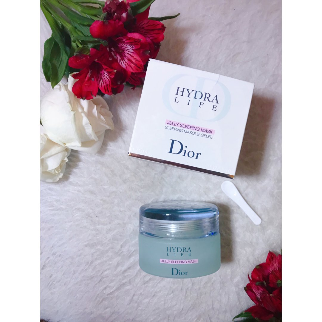 断舍离#7|Dior水动力睡眠面膜空瓶