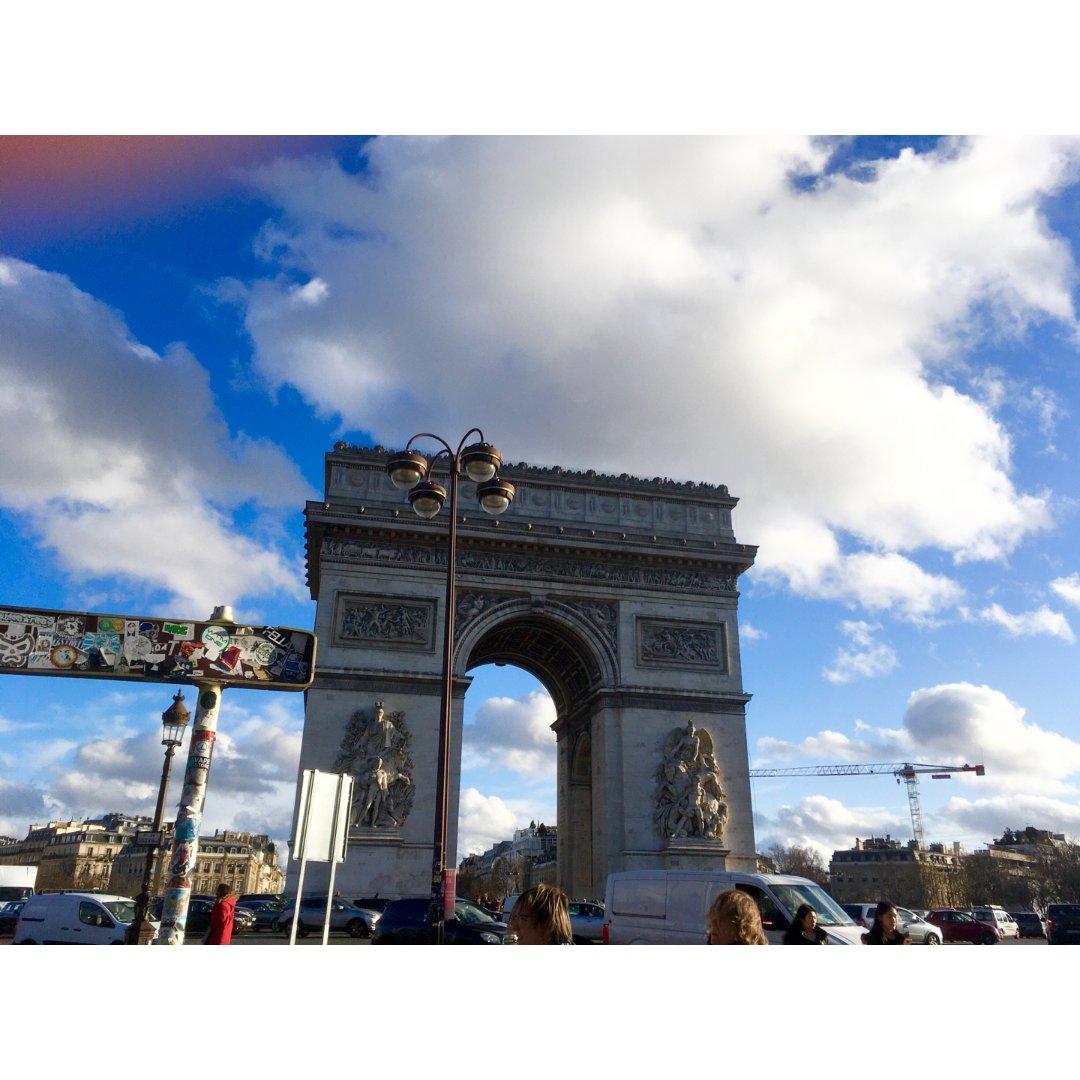 巴黎旅游必去之凯旋门&迪士尼