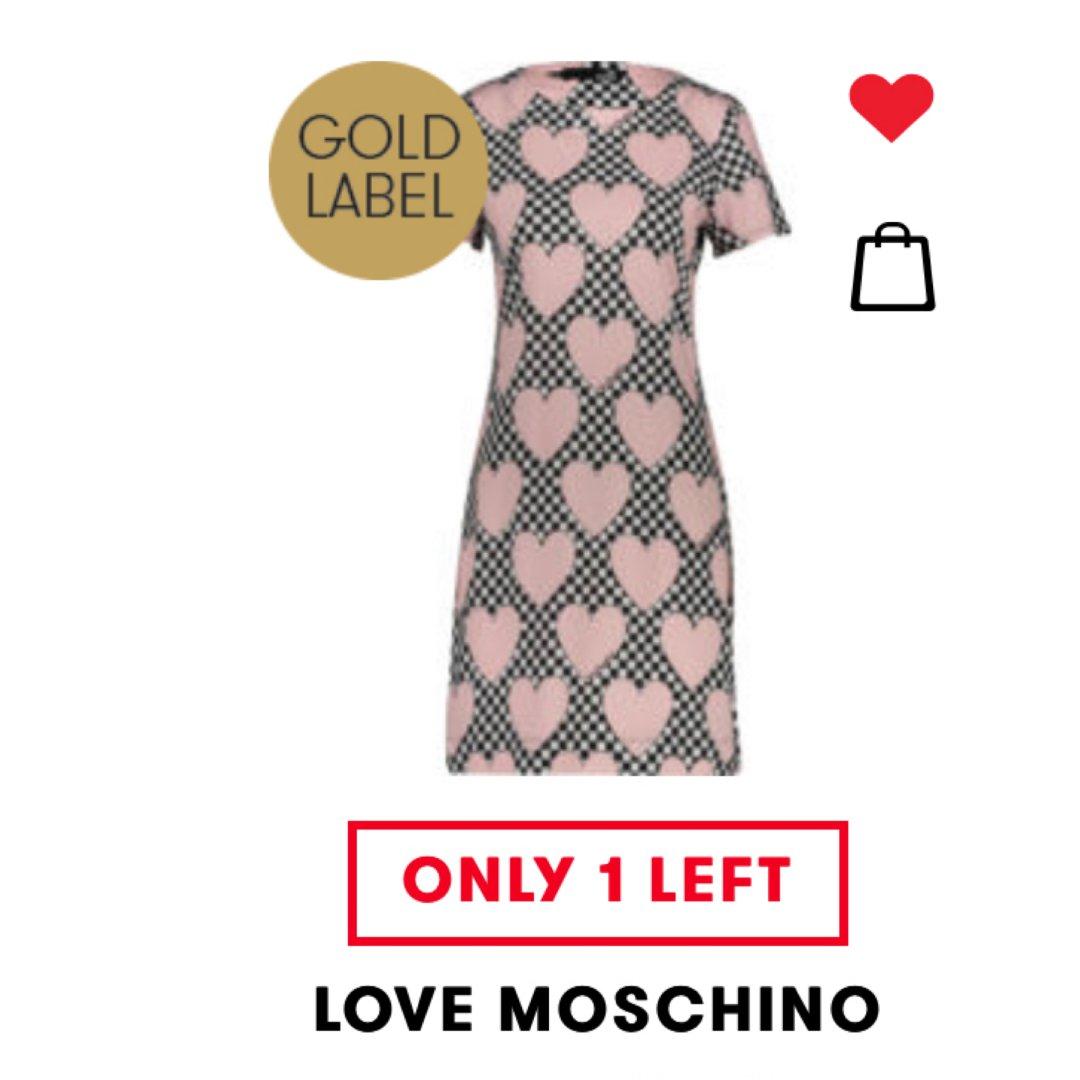 Tk moschino可爱裙