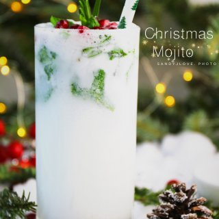 白色圣诞特饮 Christmas Moj...