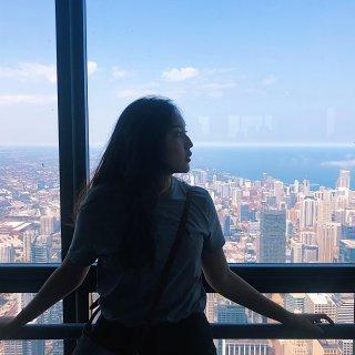 美惊人的芝加哥世界第二高塔 ...