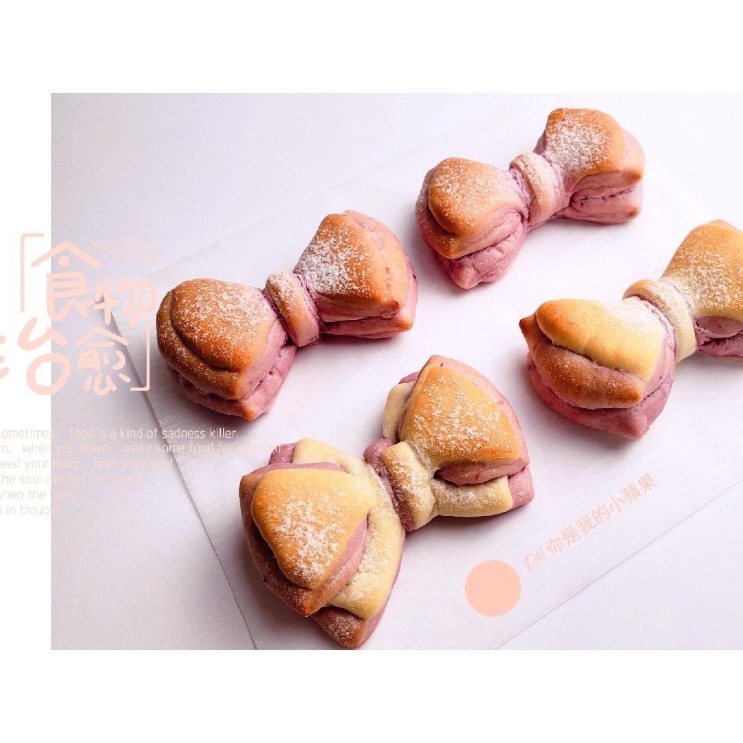 可可愛愛的蝴蝶結🎀 麵包
