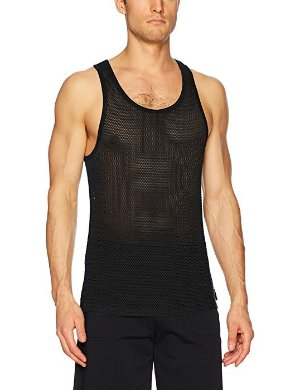 $5.74(原价$32)Calvin Klein 男款透视背心热卖