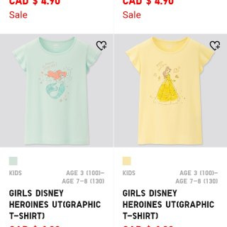 Uniqlo 优衣库,折扣爆料,Disney 迪士尼