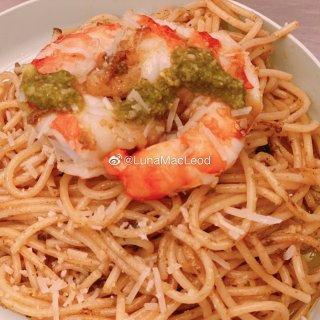 #儿童晚餐食谱# 【芝士虾意面】...