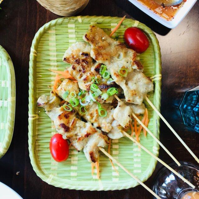 试吃波屯儿新开的泰国菜🇹🇭9Zaab