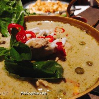 伦敦美食 Soho区好吃的泰国菜...