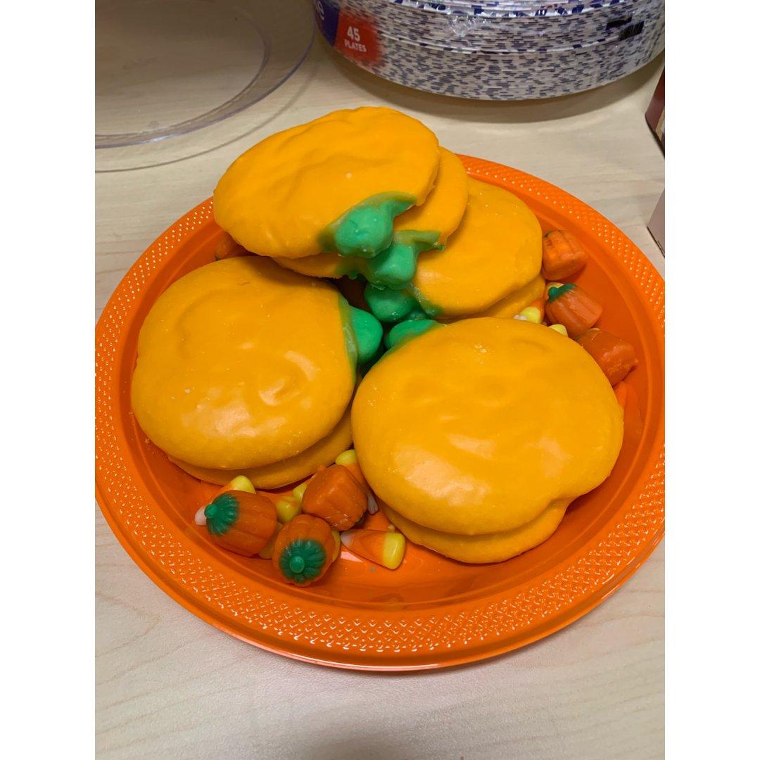 万圣节cookies