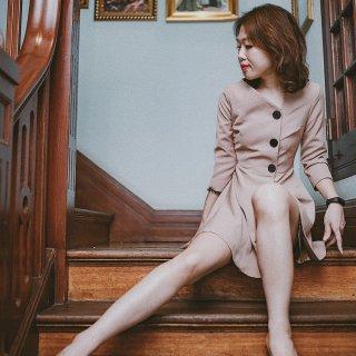 【Quaint众测】这件复古连衣裙也太好看了吧!