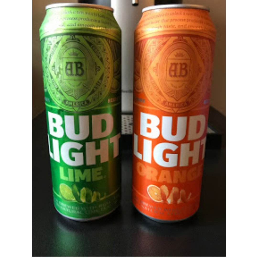 budlight orange口味啤酒