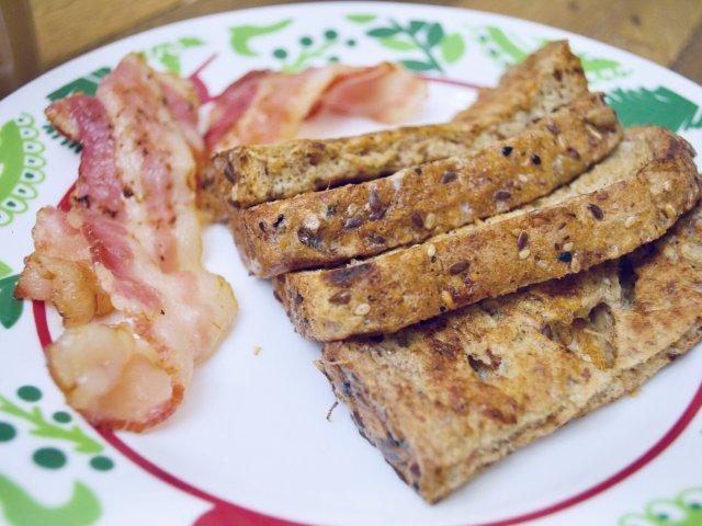 周末的早餐好好吃😋