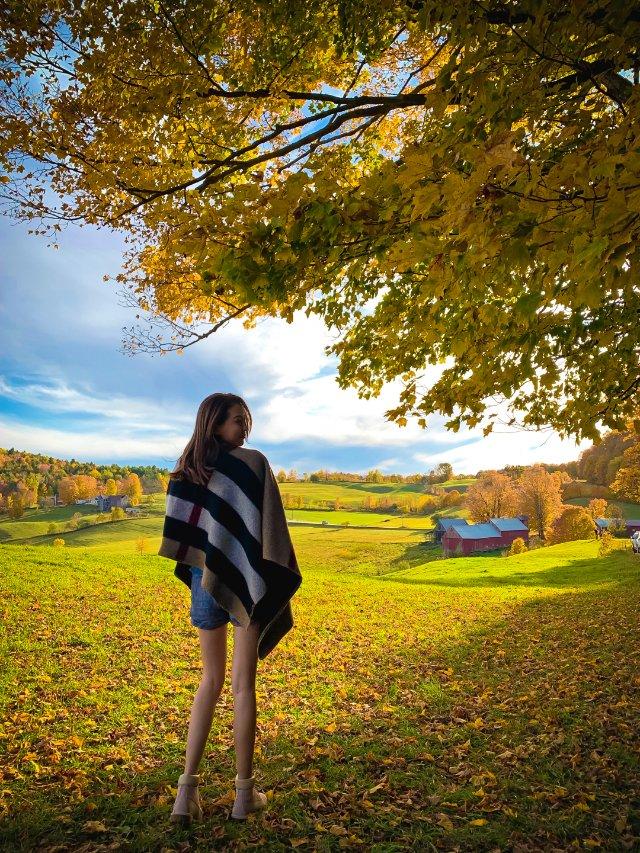 OOTD 🍁 Vermont秋游穿搭