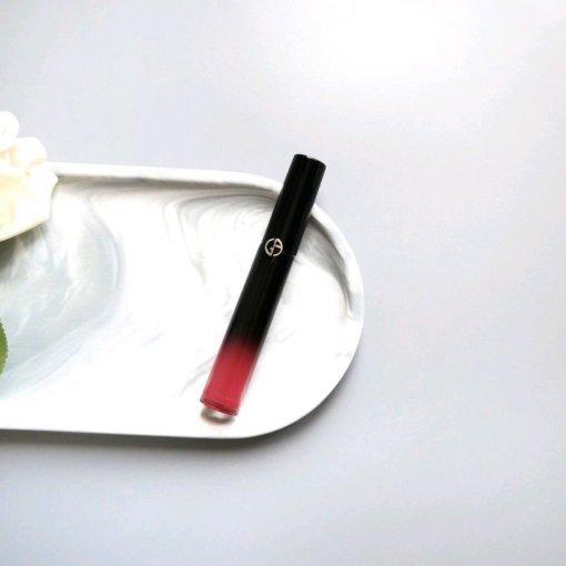 阿玛尼黑管唇釉新色 | 超甜的冰爽西瓜汁