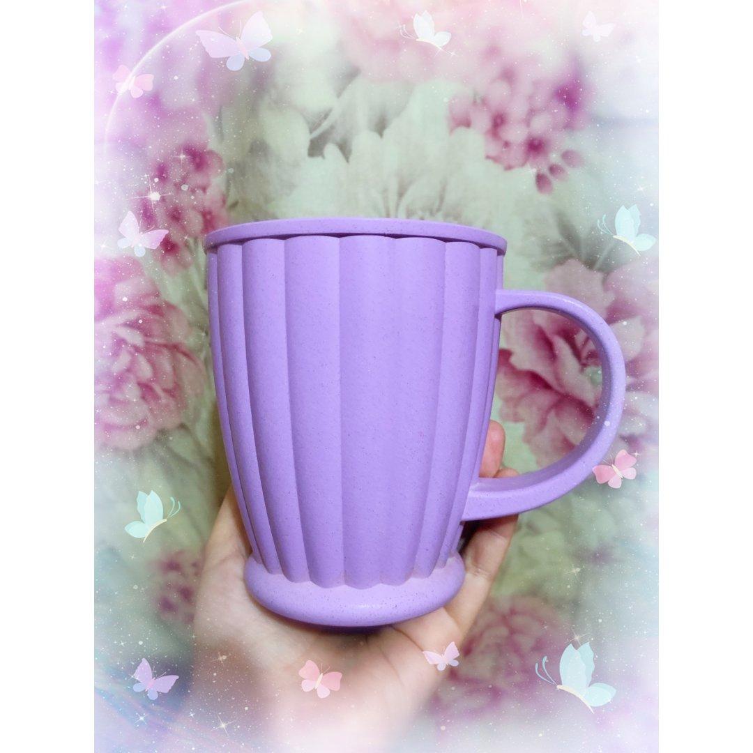 紫色簌口杯!