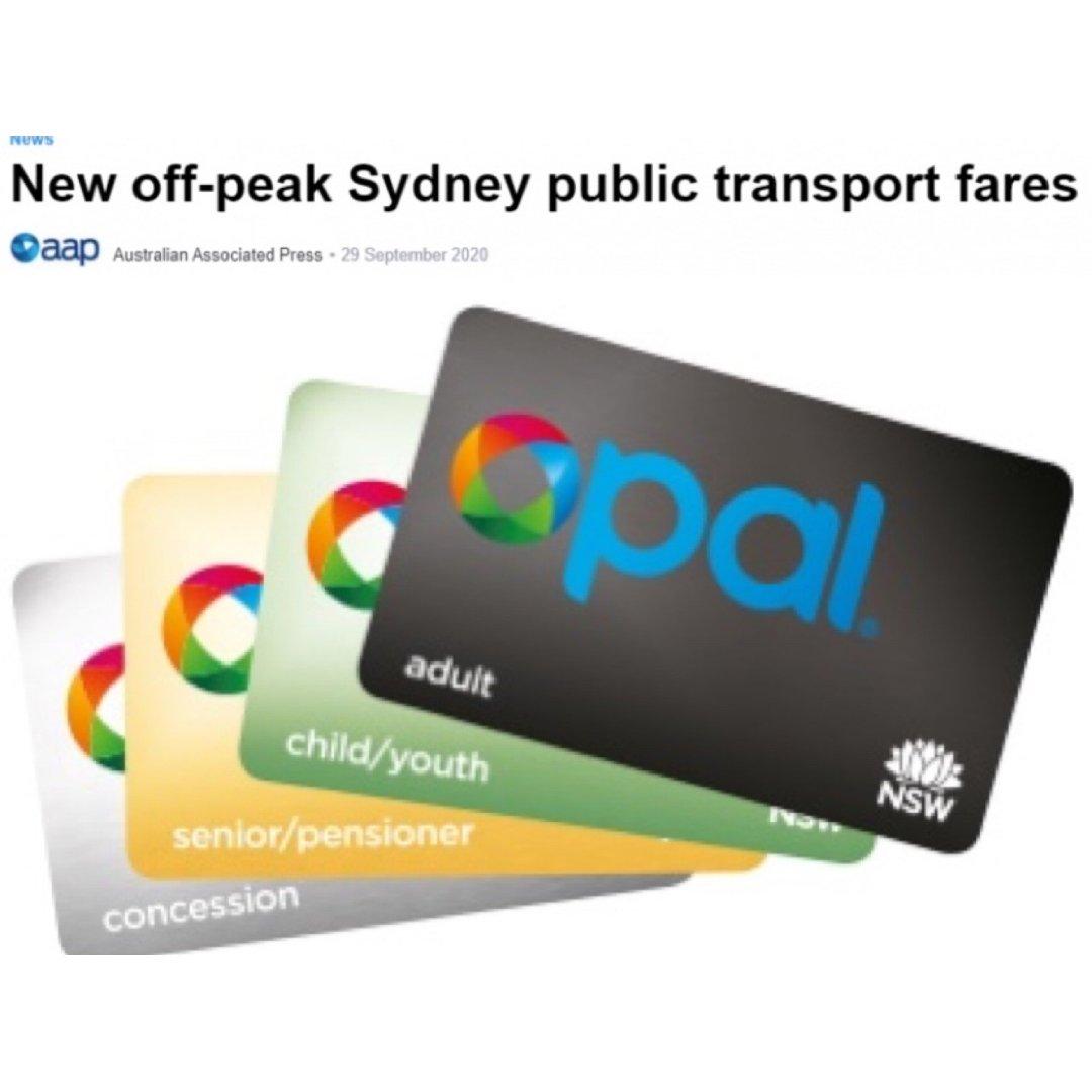 下周一开始!悉尼Opal卡优惠升级,非高...