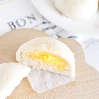 第一次做奶黄包😊算是hin成功啦!...