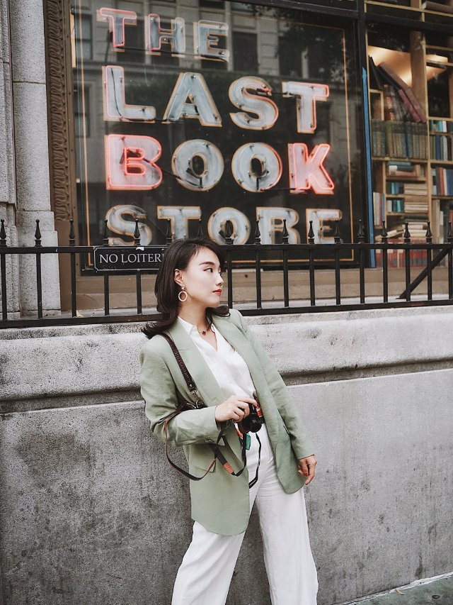 穿搭 | Zara这件复古绿西装,盘他!