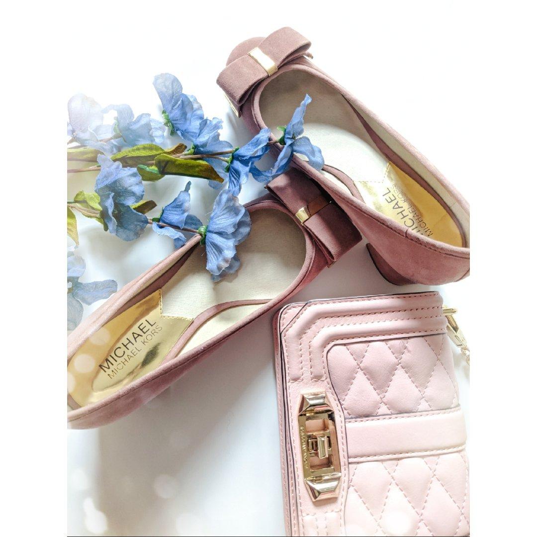 包包鞋子一个色之粉色篇
