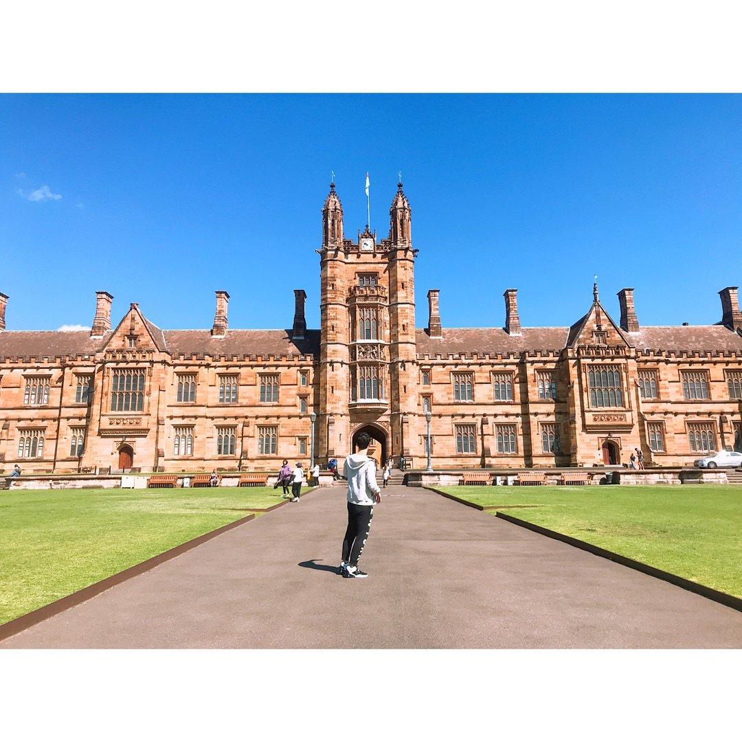 🔮 哈利波特式建筑 - 悉尼大学...