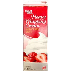 Great Value Heavy Whipping Cream, 32 oz - Walmart.com