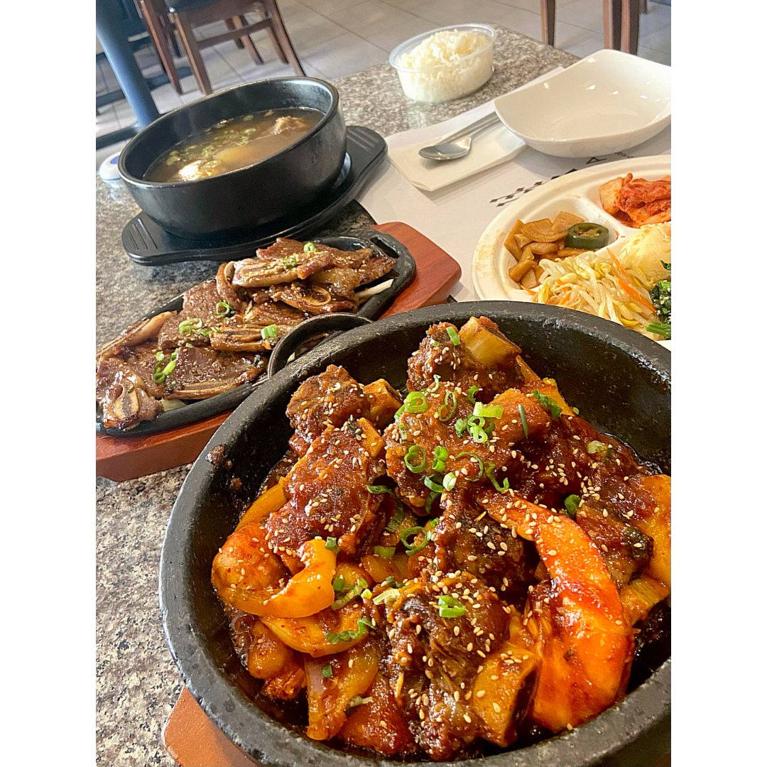 湾区吃啥哟 • 与众不同的韩式辣炖排骨锅