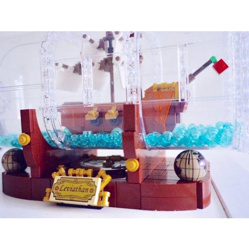 瓶中船Lego