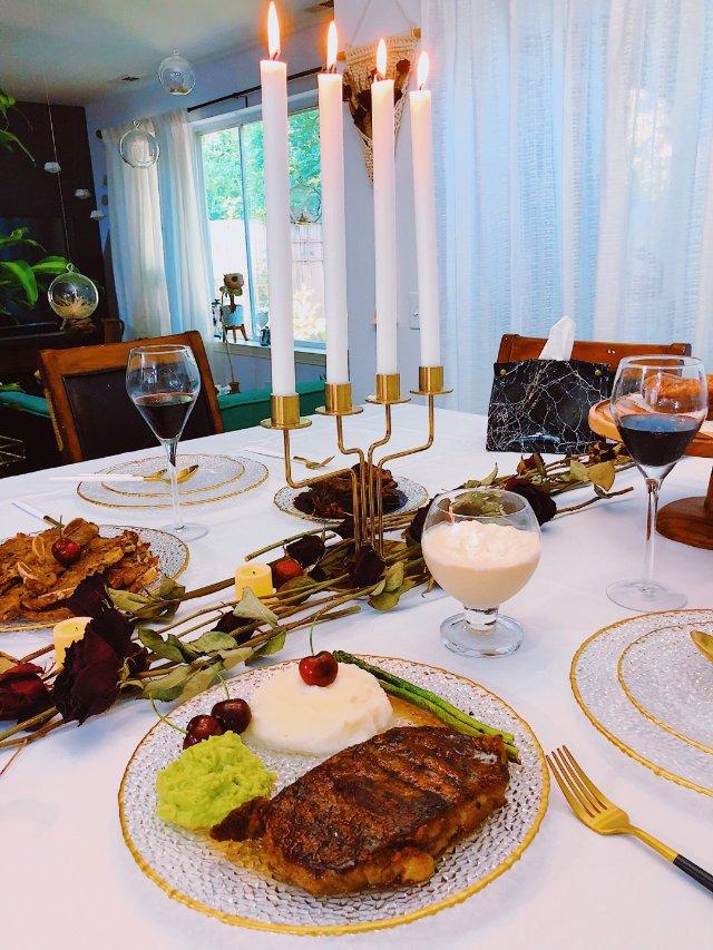 生活需要仪式感 自制节日浪漫🕯️晚餐