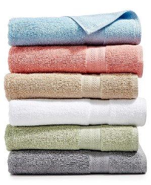 As low as $1.79Sunham Soft Spun Cotton Bath Towel Collection