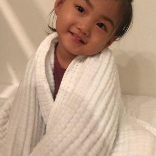 微众测 Winner纱布浴巾,呵护宝宝娇嫩的肌肤