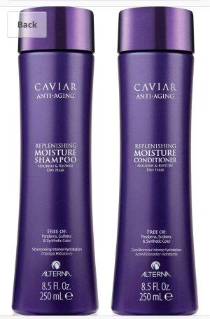 $35.05 (原价$68)Caviar 鱼子酱滋养系列洗发露护发素套装