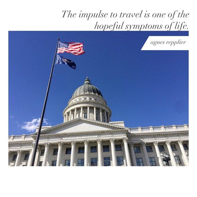 盐湖城是个非常美丽的城市,给人的感...