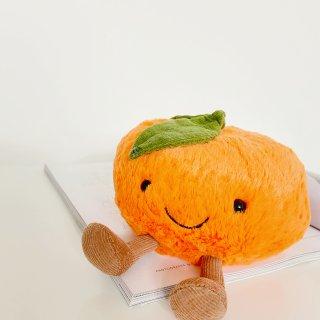 商城兑换的Jellycat的小橘子🍊...