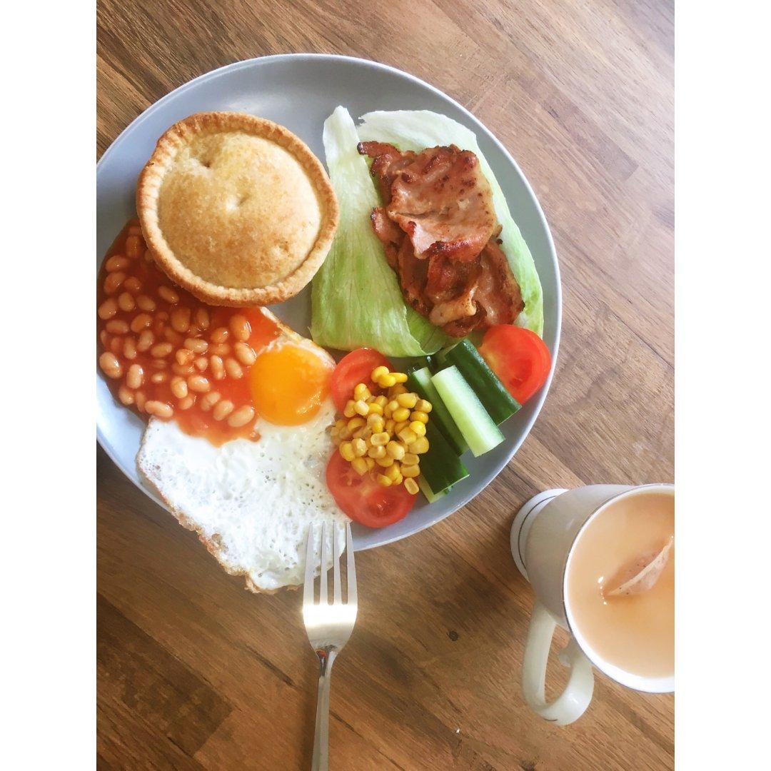 早鸭,元气满满的早餐🥣...