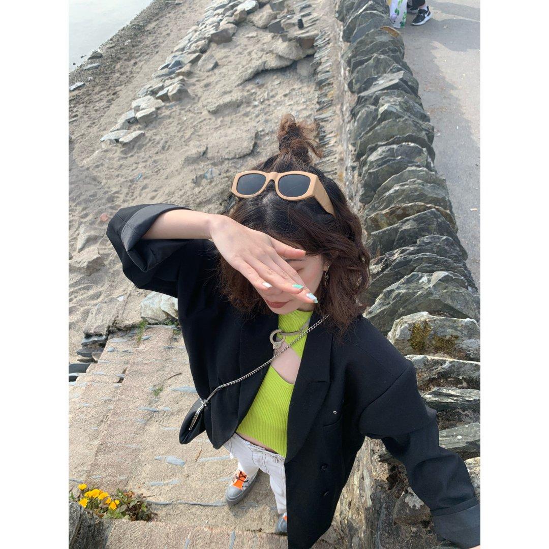 沙滩拍照 不拍蓝天白云长裙还能怎么拍...